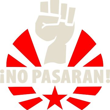 No Pasaran Fist & Star by NeoFaction