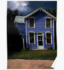Gingerbread Gothic Poster