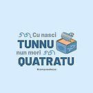 Cu Nasci Tunnu - Blue by campobellezza