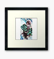Demon Slayer Kimetsu no yaiba Framed Print