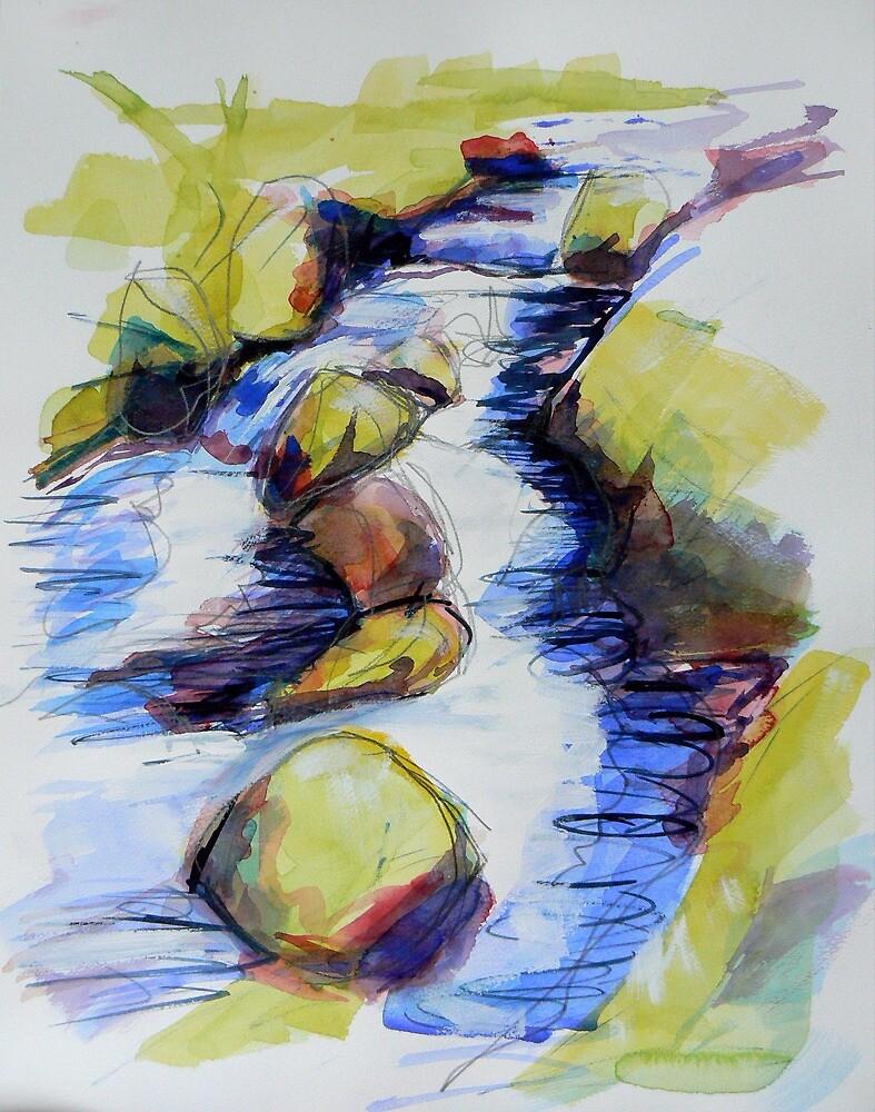 Study of water 3 by Richard Sunderland