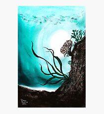 Jade Lagoon Photographic Print