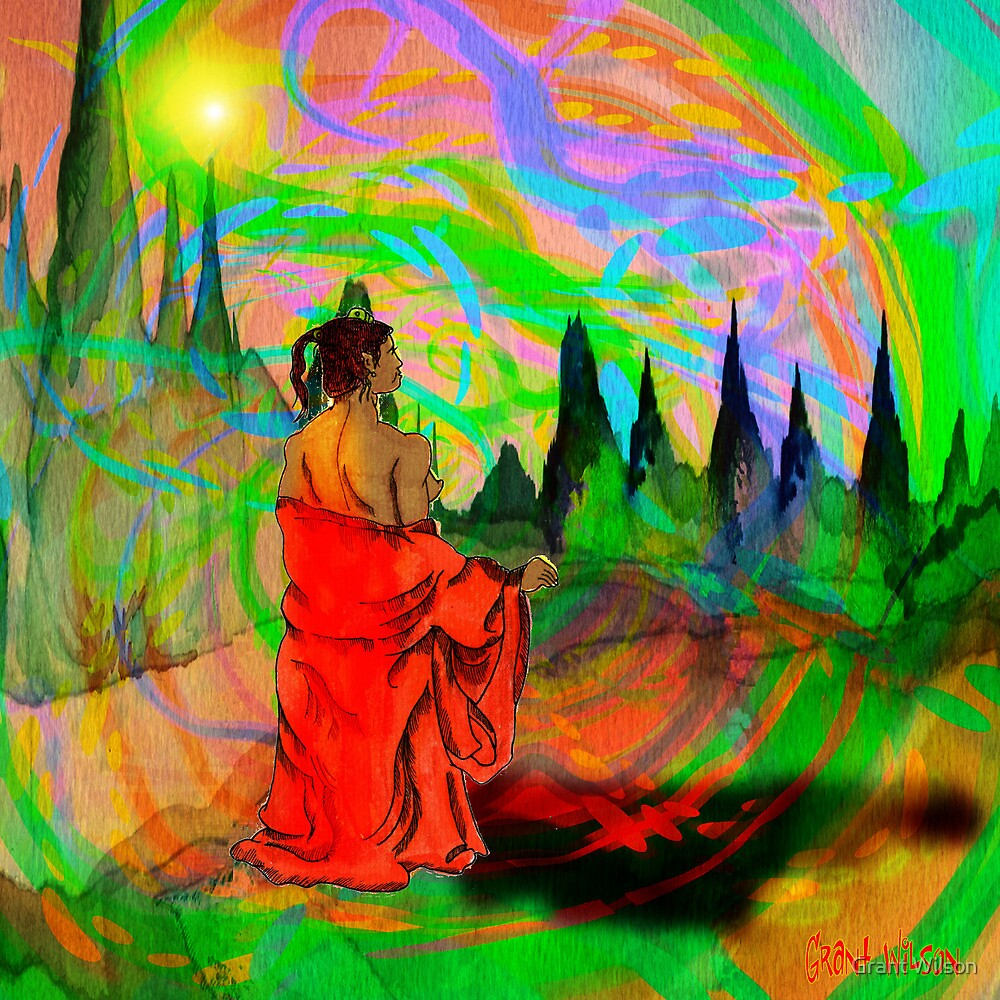 The garden of light. by Grant Wilson