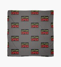 Come in! We're Open by Chillee Wilson Scarf
