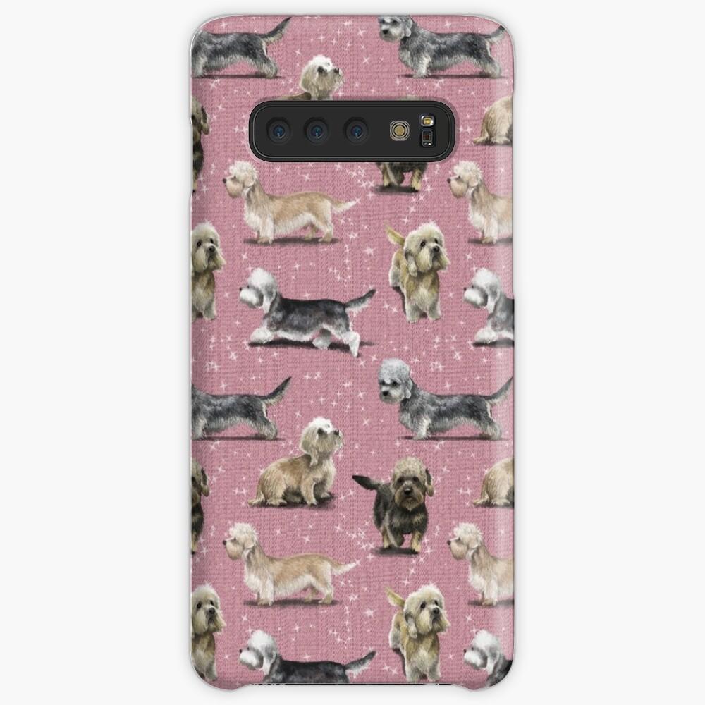 The Dandie Dinmont Pink Case & Skin for Samsung Galaxy
