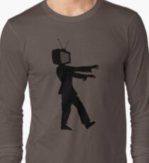 Zombie TV Guy by Chillee Wilson T-Shirt