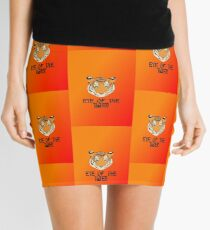 Eye of the Tiger by Chillee Wilson Mini Skirt