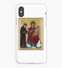 Virgin Mary orthodox panagia icon St Paisios  iPhone Case/Skin