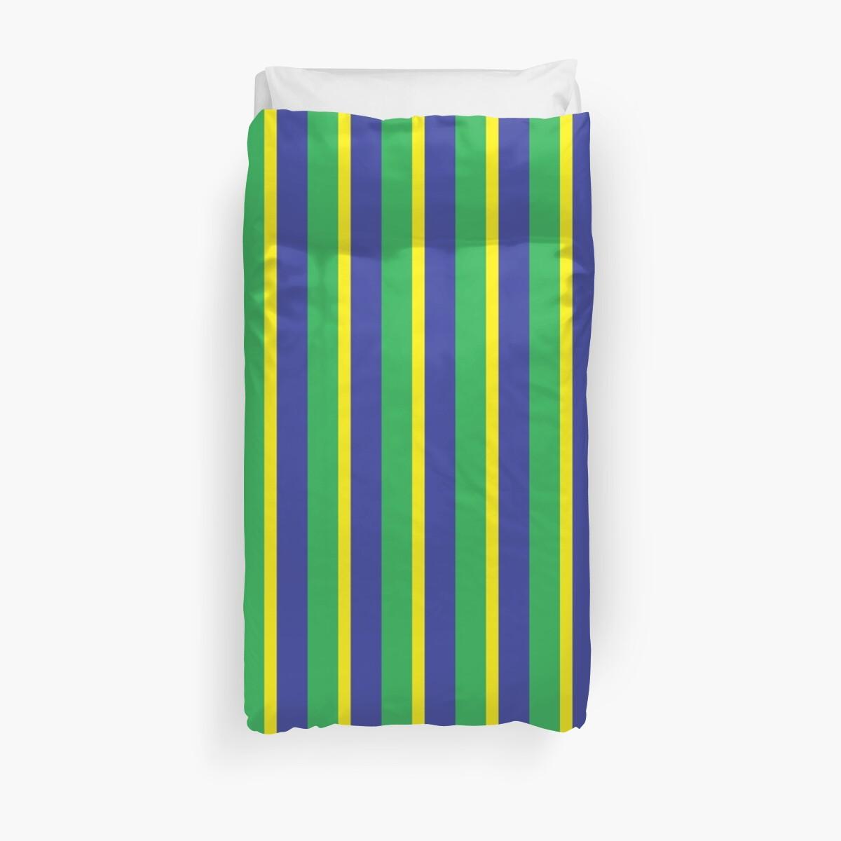 Mod Brazilian Stripes by 'Chillee Wilson' by ChilleeWilson