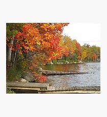 muskoka docks Photographic Print