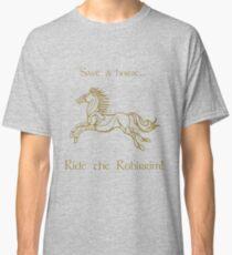Save a horse... Ride the Rohirrim! - Tan Classic T-Shirt