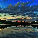 Blue Sunset by LudaNayvelt