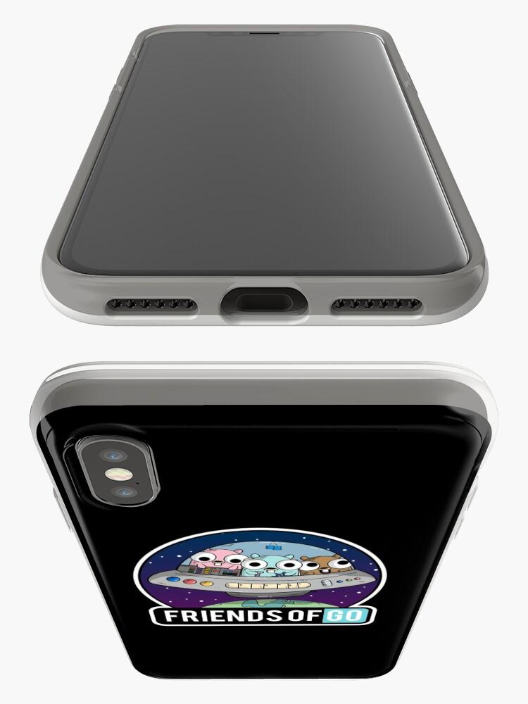 Vista alternativa de Vinilos y fundas para iPhone Friends of Go