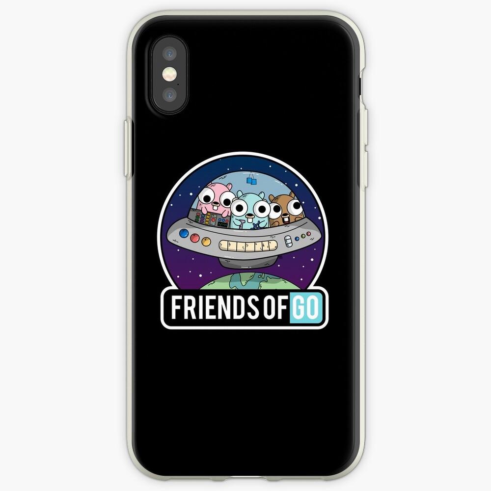 Friends of Go Vinilos y fundas para iPhone