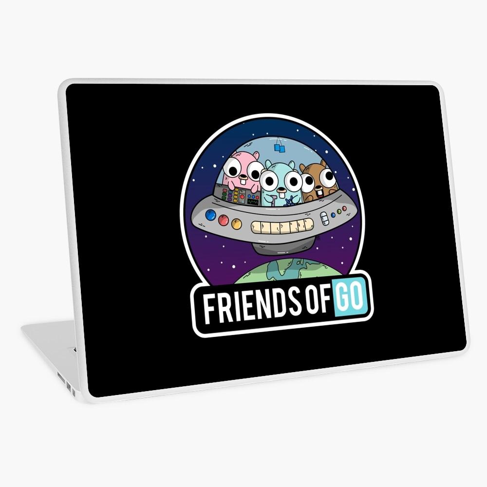 Friends of Go Vinilo para portátil