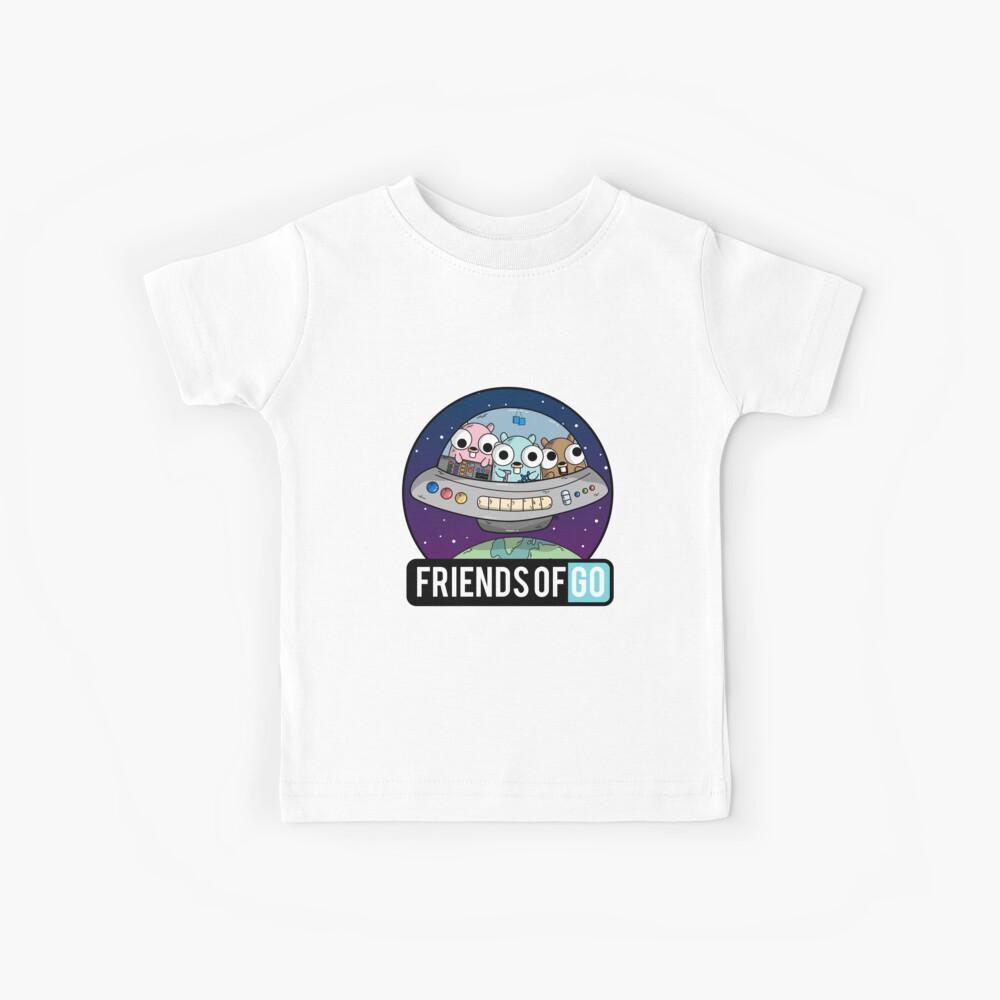 Friends of Go Camiseta para niños