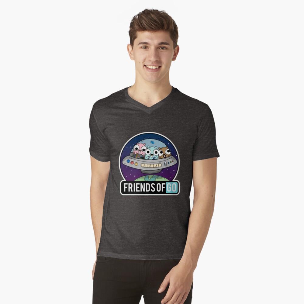 Friends of Go Camiseta de cuello en V