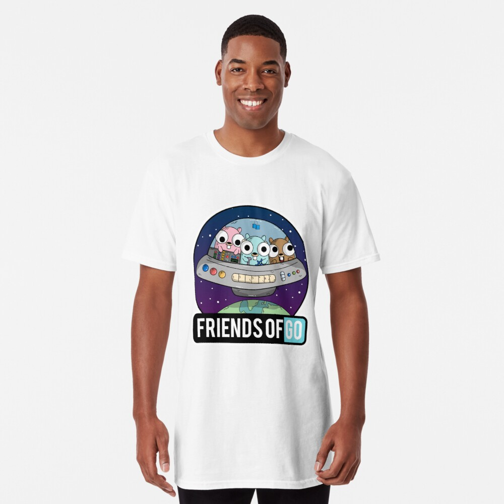 Friends of Go Camiseta larga