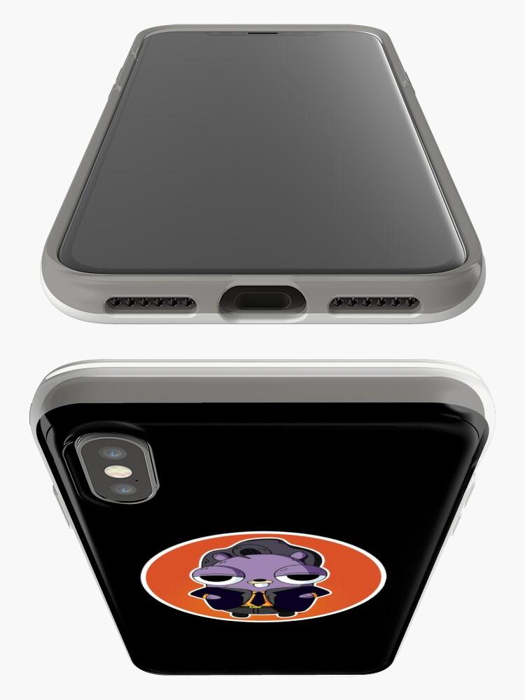 Vista alternativa de Funda y vinilo para iPhone Friends of Go Mock Server