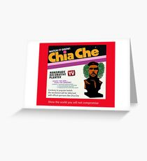 Chia Che Greeting Card