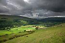 Looking Across Buckden To Langstrothdale by SteveMG
