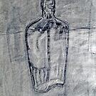 glass bottle by Ellen Marcus