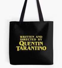 Geschrieben und Regie von Quentin Tarantino Tote Bag