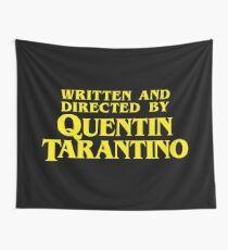 Geschrieben und Regie von Quentin Tarantino Wandbehang
