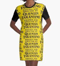 Vestido camiseta Escrito y dirigido por Quentin Tarantino
