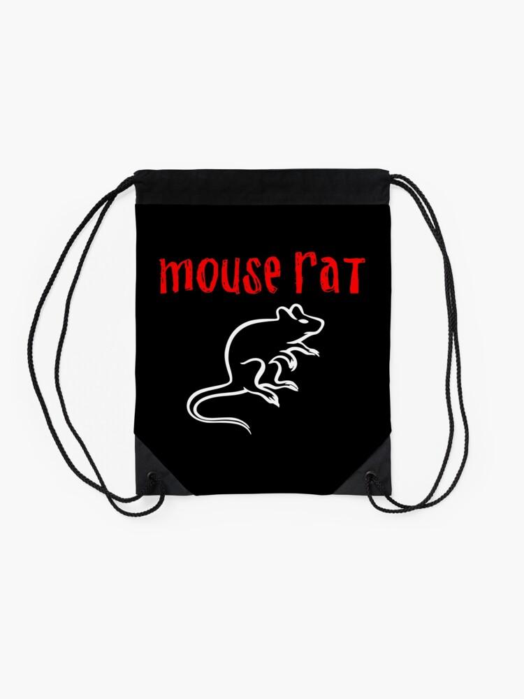 Alternate view of Mouse Rat Drawstring Bag