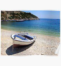 St Nicholas Beach - Zante, Greece Poster