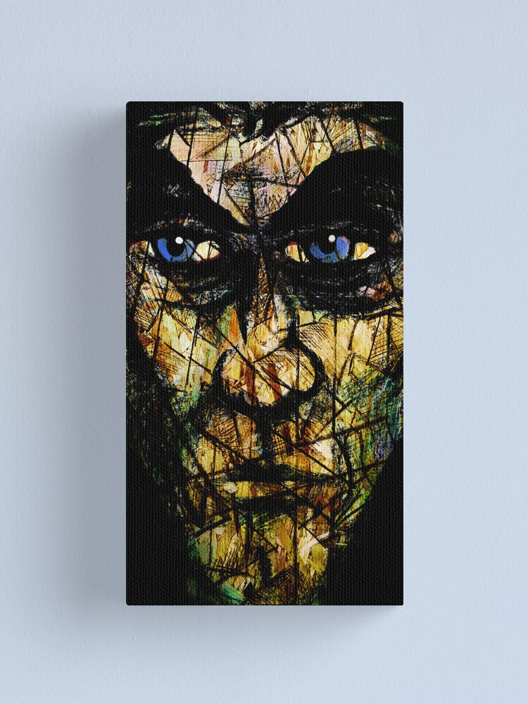 Alternate view of Long Face Canvas Print
