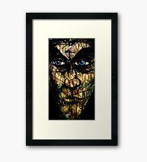 Long Face Framed Print