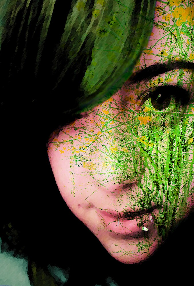 Green Tree Goddess by Miranda Rose