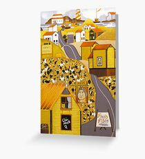 """Arv's Grocery"" greeting card Greeting Card"