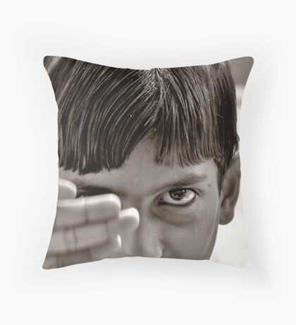 partings Throw Pillow