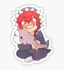 Bukkit shark onesie rock boi! Art by the wonderful @smol_ghosts ❤️ Sticker