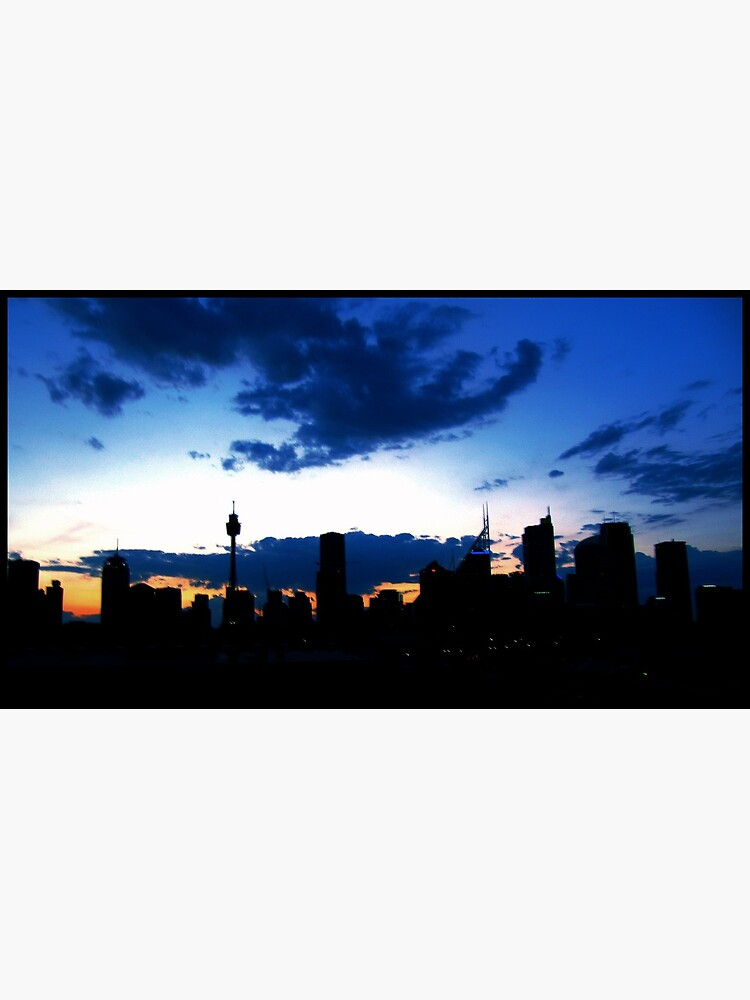 Blue Sydney Sunset by Briandamage