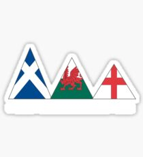 3 peaks 2010 Sticker
