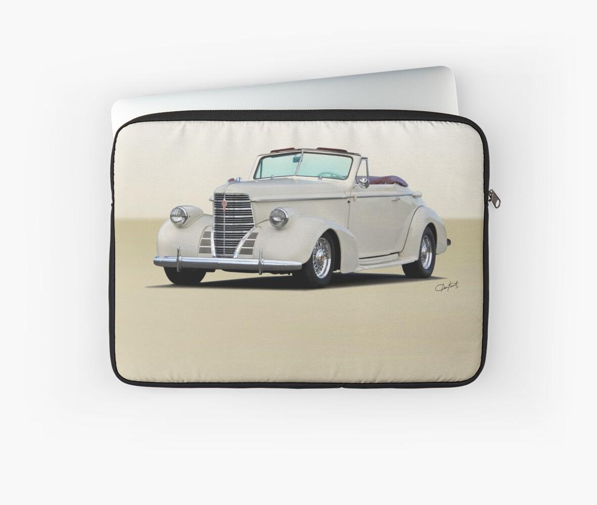1938 Oldsmobile 8 Convertible Coupe 'Studio' 1 by DaveKoontz