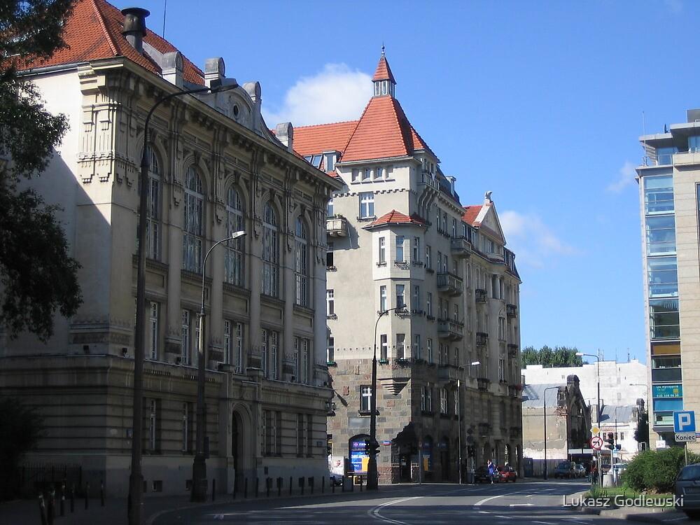 Horn & Rupiewicz tenement house in Warsaw, Poland by Lukasz Godlewski