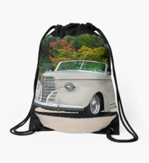 1938 Oldsmobile 8 Convertible Coupe  Drawstring Bag