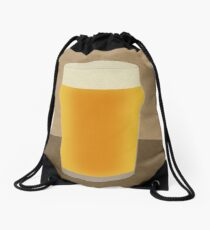 A Pint of Beer Drawstring Bag