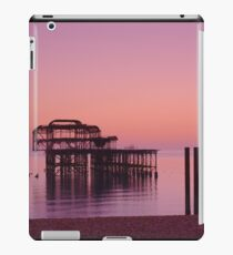 The solitary pier iPad Case/Skin