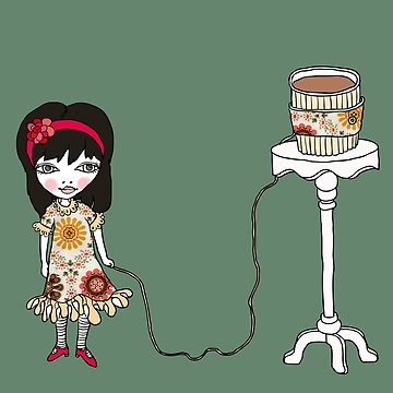Coffee Cuff Girl goes Vintage (UPDATED) by GretelGirl