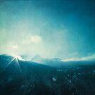 Light Fall - Sunrise in the Alps by Dirk Wuestenhagen