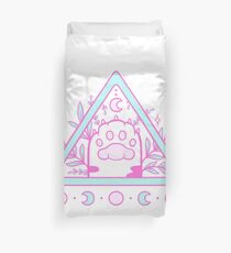 Witchy Cat Paw 02 Duvet Cover