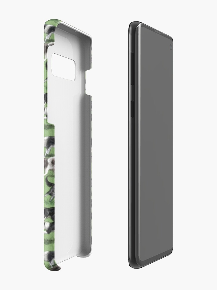 Alternate view of The Border Collie Case & Skin for Samsung Galaxy