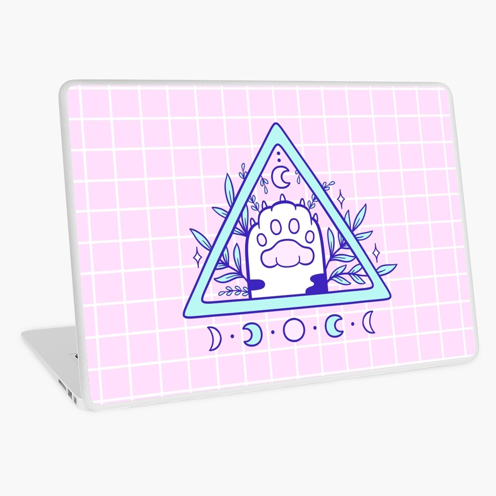 Witchy Cat Paw 03 Laptop Skin