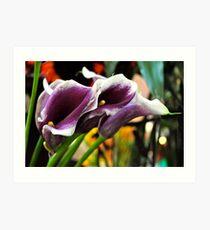Farmers Market Lilies Art Print